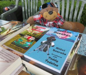 Teddy Tedaloo at Waterfront Book Festival
